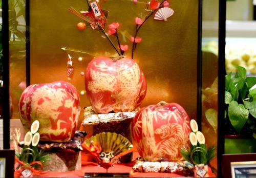 【画像】67万円の日本産リンゴが中国のスーパーに並ぶ。「日本リンゴは1個840円で買える」との声