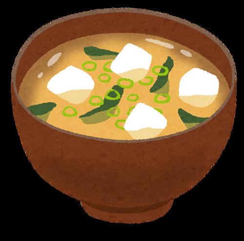 味噌汁に玉ねぎや溶き卵を入れるなって言ってるだろうが!!!!