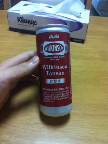 ウィルキンソンのソーダが大量にあるんだが