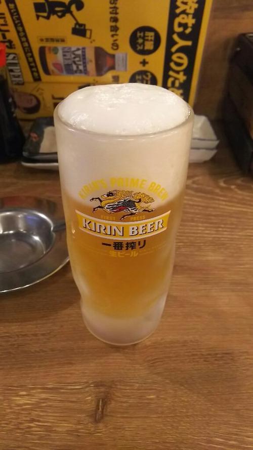 朝から磯丸水産で生ビール飲んでる人生