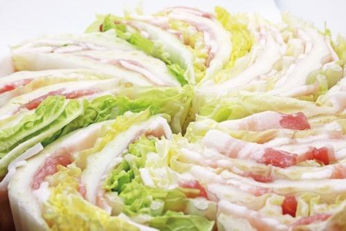 白菜と豚肉のミルフィーユってダシとか料理酒すら入れなくてええんか?