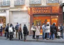 フランス人 「日本のラーメンうますぎワロタ」 パリに開いたラーメン屋が大盛況