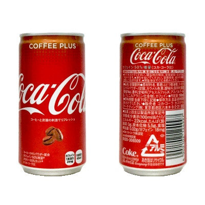 禁断の組み合わせ コカ・コーラ+コーヒー『コカ・コーラ COFFEE PLUS』 ※自販機のみ