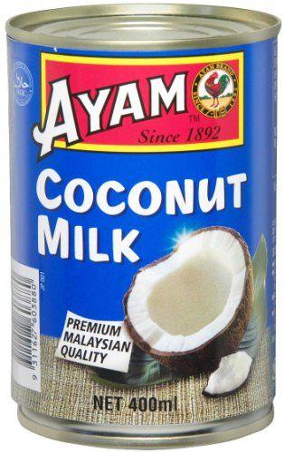 ココナッツミルクの缶詰を買ってきた。さて、どうしよう?