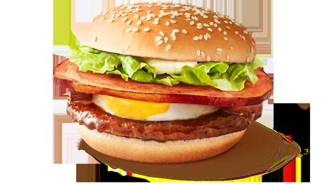 【朗報】マクドナルドさん、はみ出すハムてりたまバーガーが美味すぎる