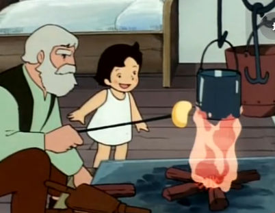 アニメや漫画で食べてみたい食べ物ランキング 1位「アルプスの少女ハイジのチーズ」 2位「はじめ人間ギャートルズのマンモスの肉」 3位「ONE PIECEの悪魔の実」