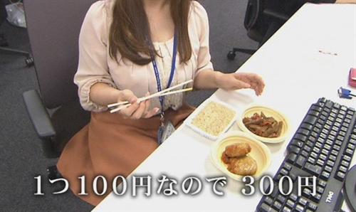 昼食代が300円のOLってどう思う?