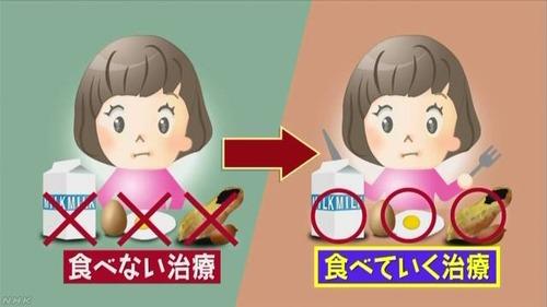 【驚愕】卵アレルギーと小麦アレルギーの14歳美少女、そうめん1cm卵1gを食べ続け耐性をつけ、克服。