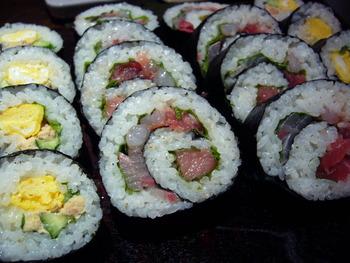 おいしい巻き寿司のネタ、教えてよ。