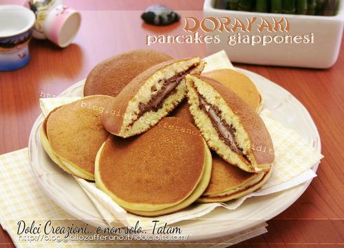 Dorayaki-pancakes-giapponesi
