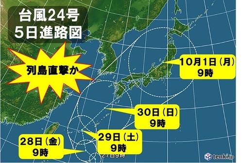 【備蓄・養生】台風24号に備えてやっておくべき対策