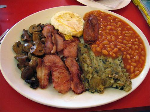 イギリスって主食って概念がないんだって