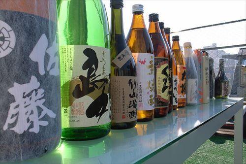 日本酒「獺祭があります」 ウイスキー「山崎があります」  焼酎「うっ…うぅ」