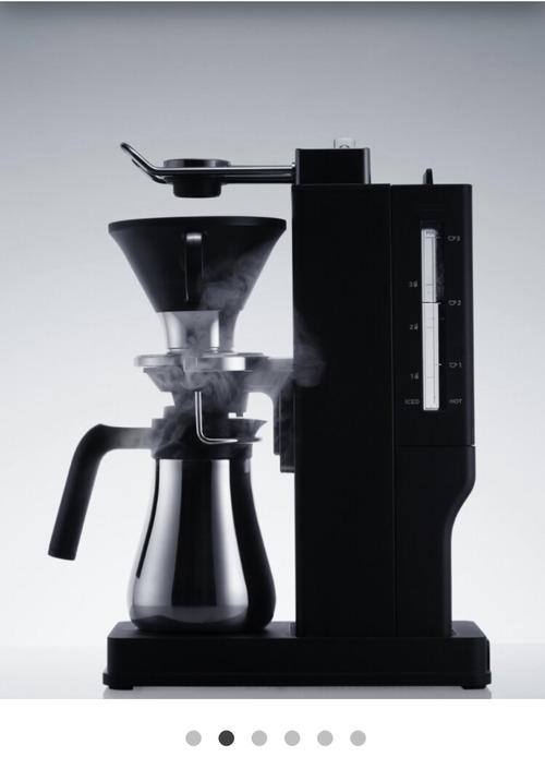 バルミューダのコーヒーメーカー、めちゃくちゃかっこいい