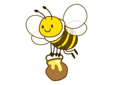 ミツバチ イラスト2