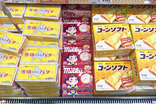 パンに塗るミルキーが美味いと話題!ただし発売元は不二家でなく雪印
