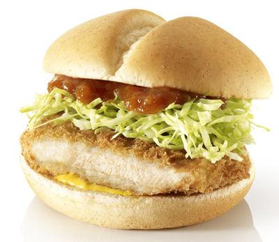 マクドナルド、新バーガーの「とんかつバーガー」を期間限定販売