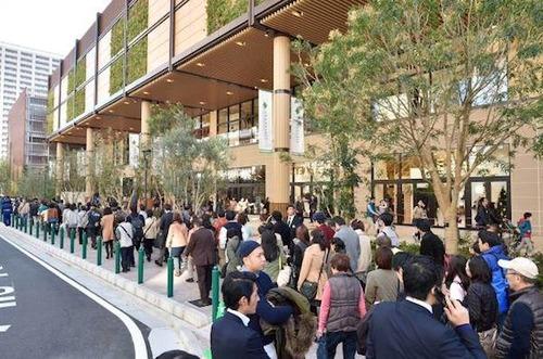開業したばかりの小綺麗なイトーヨーカドーに7000人が行列…武蔵小杉