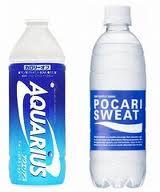 ポカリとアクエリアスの違い ポカリはエネルギー補給に良く、アクエリアスは疲労回復に良い