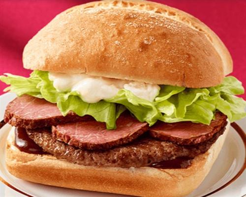 マクドナルドに消費者庁から措置命令  「東京ローストビーフバーガー」 成形肉なのにブロック肉を使っているように表示