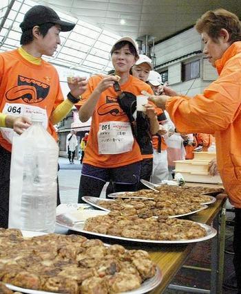 【大阪】食べながら走る「ごちそうマラソン」