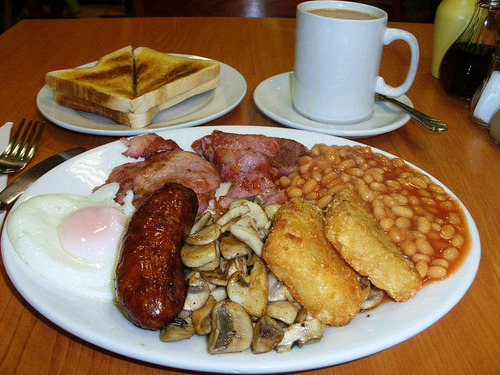 イギリスの朝飯wwwwwwwwwwwwwwwwwwwwww
