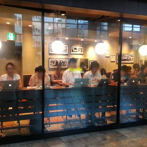 スターバックスコーヒーのカウンター席でノートパソコンをカタカタやってる奴らは、一体何の作業をやっているのか?