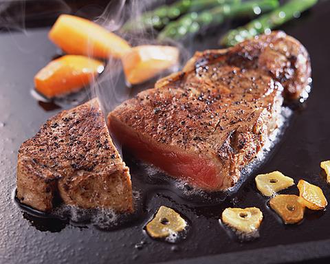 オージービーフで美味いステーキ