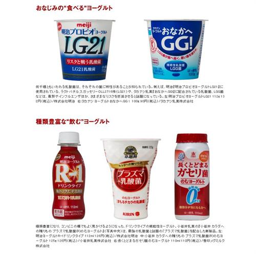 ガセリ、LG21…菌いろいろ種類もいろいろ 機能性ヨーグルトの人気が高まる