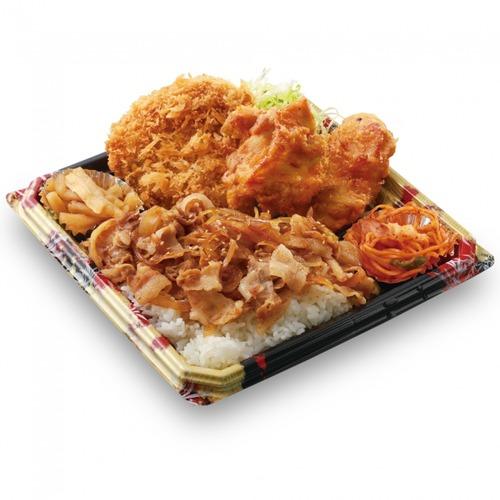 かつやが茶一色の「全力飯弁当」を750円で発売 #ステイホーム が捗りそう