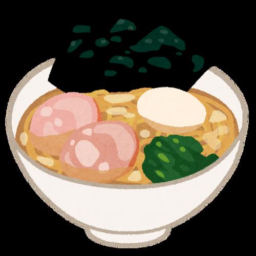 家系のラーメンはライスをスープに浸した海苔で巻いて食べると旨い