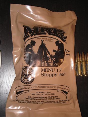 【米軍】今からレーション食う【MRE】