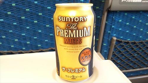 初めて新幹線でビール飲んでるけど最高すぎて草