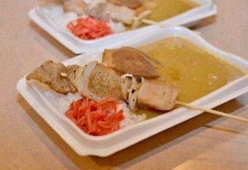 「とんこつ焼きとりカレー」限定販売 B級グルメの味を結集 久留米