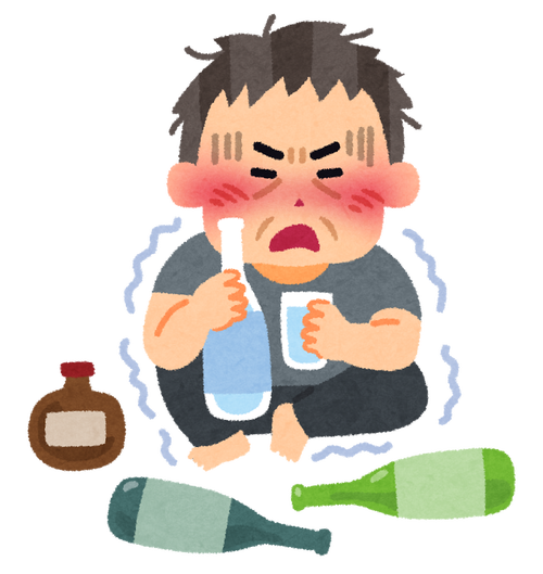医者「酒1日1.8L以上飲む人は、アルコール依存症の可能性がある」