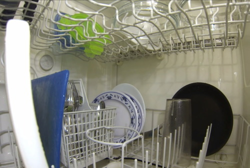 【ビデオカメラ】Goproで覗く、自動食器洗い機の中