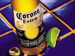 コロナ・エキストラっていうメキシコのビール飲んでるんだが
