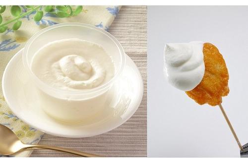 ローソンがロールケーキのクリームだけを新発売  使い方は「からあげクンディップ」に「クリームマシマシ」夢が広がるな