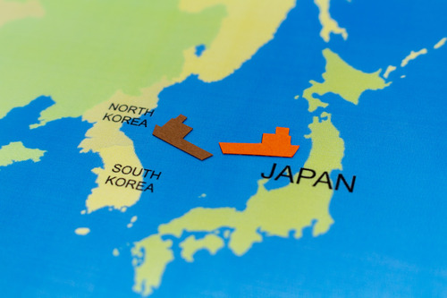 北朝鮮漁船と水産庁漁業取締船が衝突か 能登半島沖