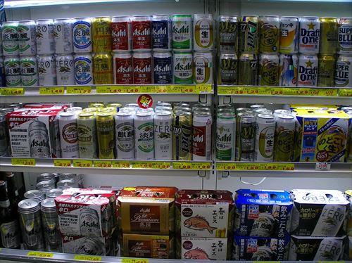 ワイ、缶ビール1本でほろ酔う