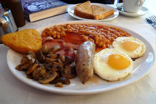 イギリスの朝食って美味そうだよな
