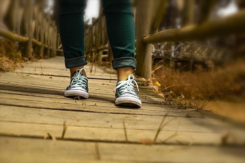 毎日5km歩いたら痩せるか?