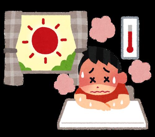 北海道で60代女性が熱中症で死亡   料金滞納で電気止められ冷房使えず