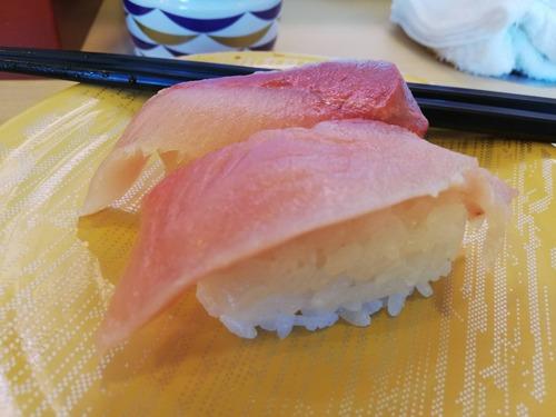 【画像】かっぱ寿司の寒ブリが