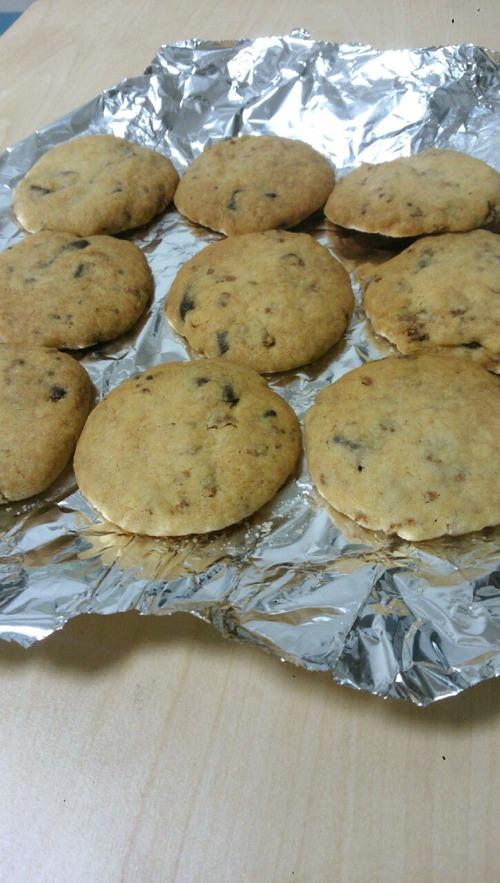 ザクザクのチョコチップクッキー作るよ!