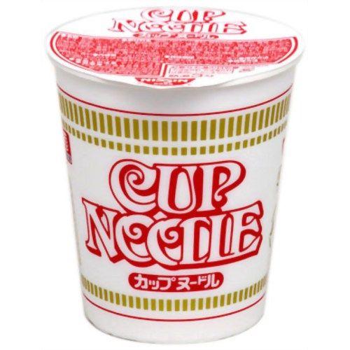 今売れてるカップ麺 1位カップヌードル 2位赤いきつね 3位シーフードヌードル