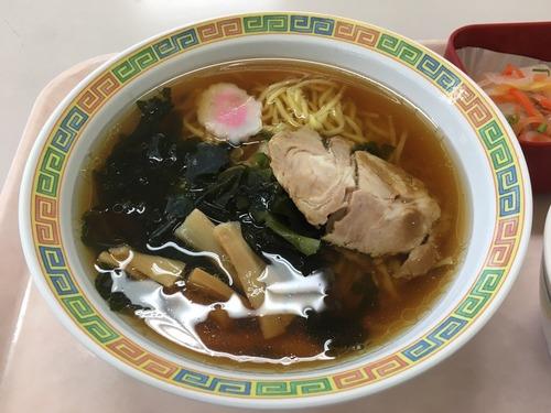 【画像あり】社員食堂のラーメン