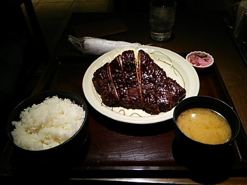 名古屋来たから味噌カツ食べるわ