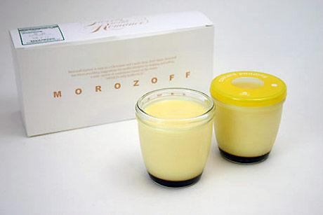 モロゾフのコップのおまけについてくるプリン美味しいよね
