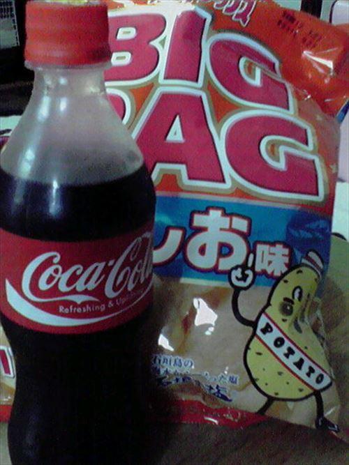 【急募】コーラに合うお菓子といえば?